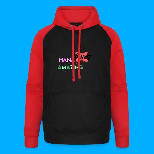 Hana Is Not Amazing T-Shirts - Unisex Baseball Hoodie