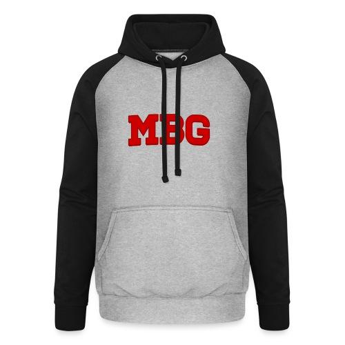 MBG - Unisex baseball hoodie