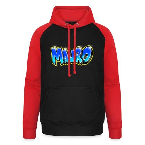 MAURO GRAFFITI NAME - Sweat-shirt baseball unisexe