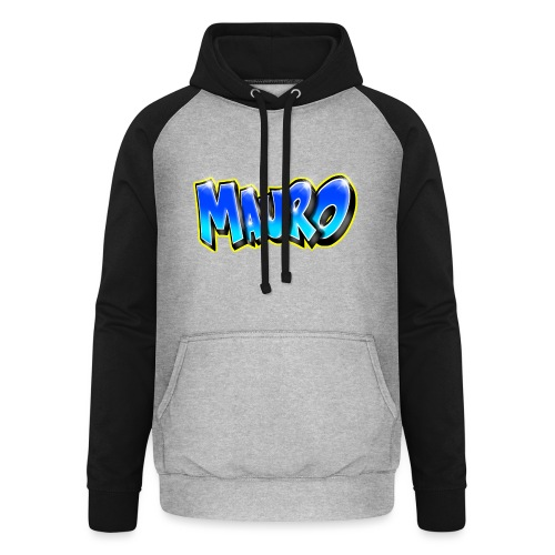 MAURO GRAFFITI NAME - Sweat-shirt baseball unisexe