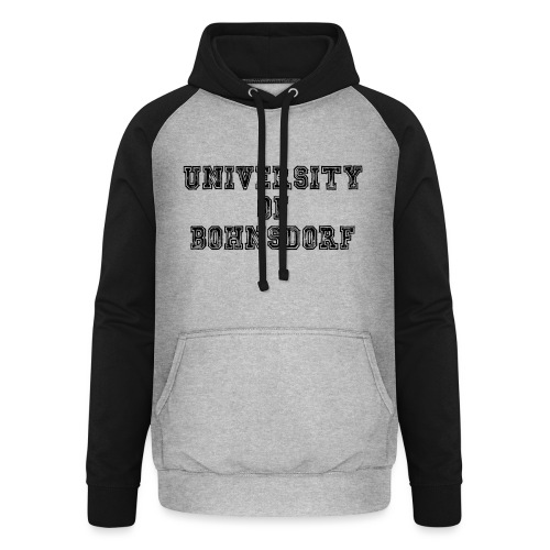 University of Bohnsdorf - Unisex Baseball Hoodie