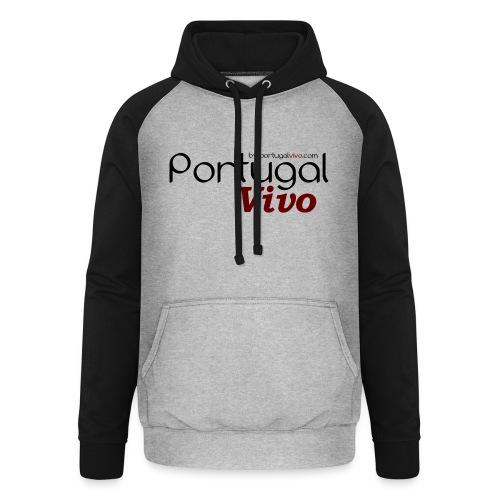 Portugal Vivo - Sweat-shirt baseball unisexe