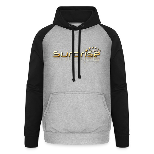 Surprise Band Logo Gold - Unisex Baseball Hoodie