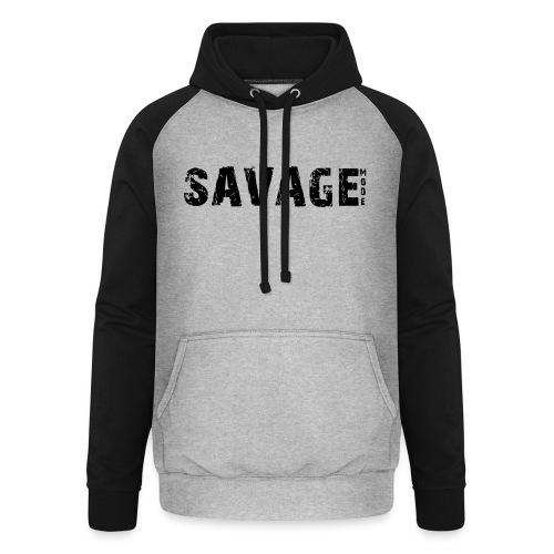 SAVAGE - Sudadera con capucha de béisbol unisex