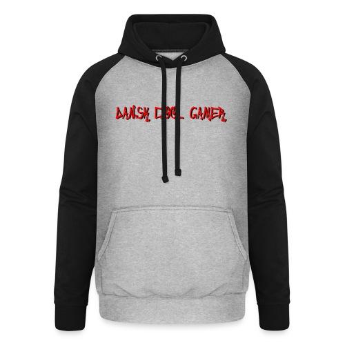 Dansk cool Gamer - Unisex baseball hoodie
