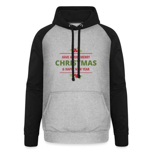 merry christmas, christmas present, christmas tree - Unisex Baseball Hoodie