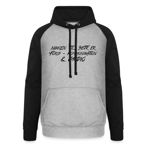 SEJR - Unisex baseball hoodie