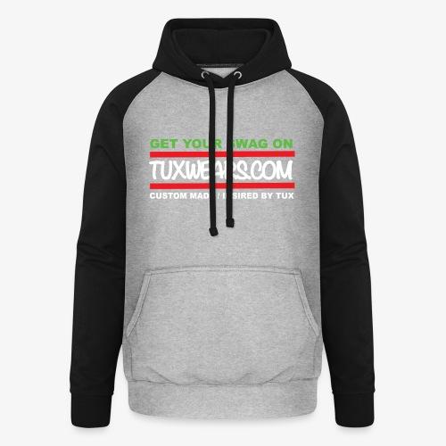 TUXWEARS.COM - Unisex Baseball Hoodie