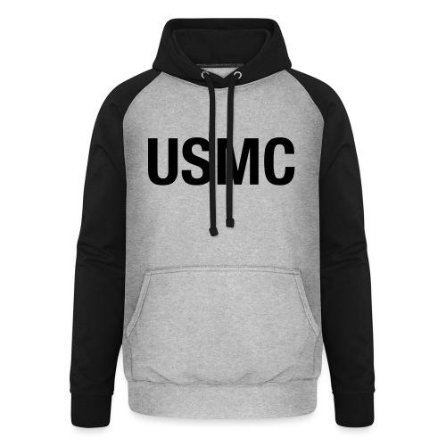 USMC - Unisex Baseball Hoodie
