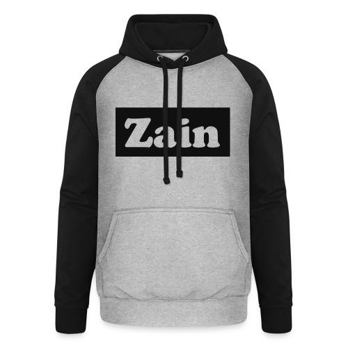 Zain Clothing Line - Unisex Baseball Hoodie