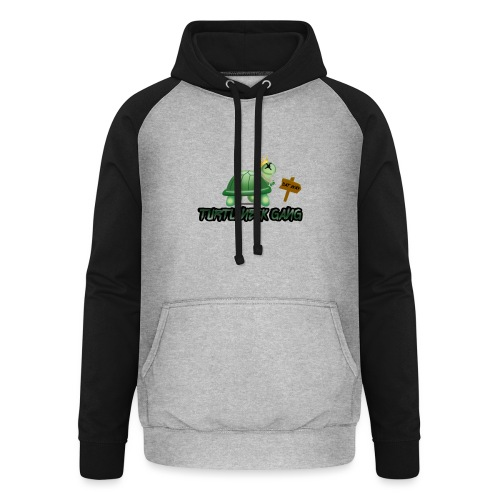 Turtle Neck Design 1 - Unisex Baseball Hoodie