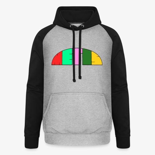 Metis rainbow logo - Unisex Baseball Hoodie