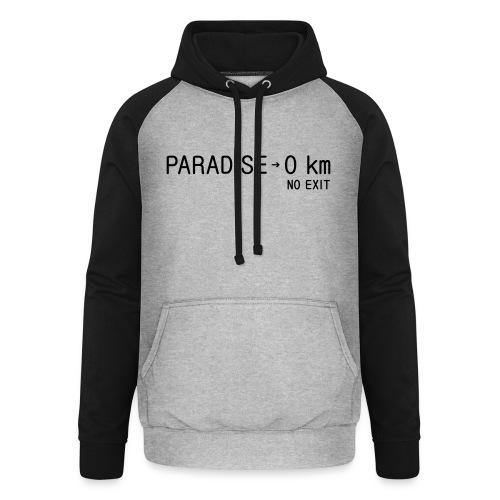 paradise0km - Unisex Baseball Hoodie