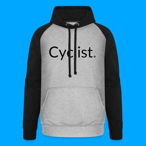 cyclist - Unisex Baseball Hoodie