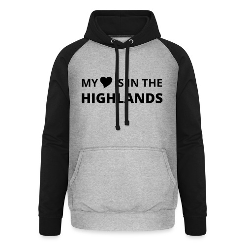 Männer Poloshirt slim Highlands - Unisex Baseball Hoodie