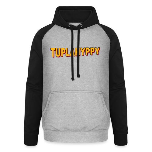 TUPLAHYPPY Essential Collection - Unisex baseball-huppari