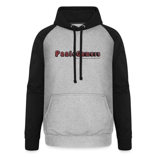 Cover PanicGamers - Felpa da baseball con cappuccio unisex