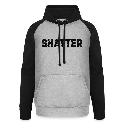 shatter - Unisex Baseball Hoodie