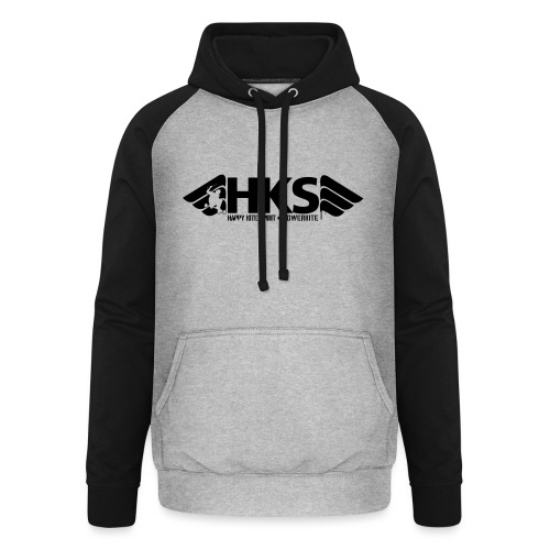 HKS - Sweat-shirt baseball unisexe