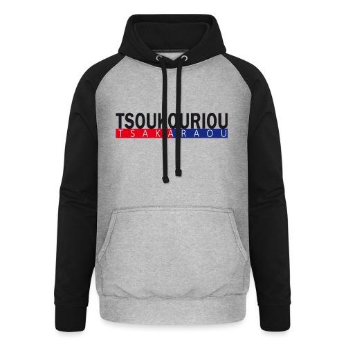 TSOUKOURIOU TSAKARAOU - Sweat-shirt baseball unisexe