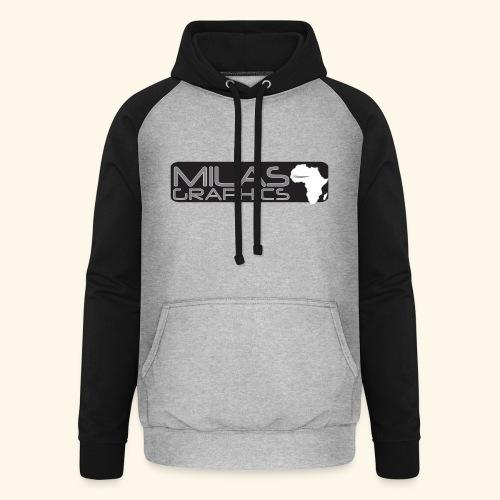 Milas Graphics Africa - Sweat-shirt baseball unisexe