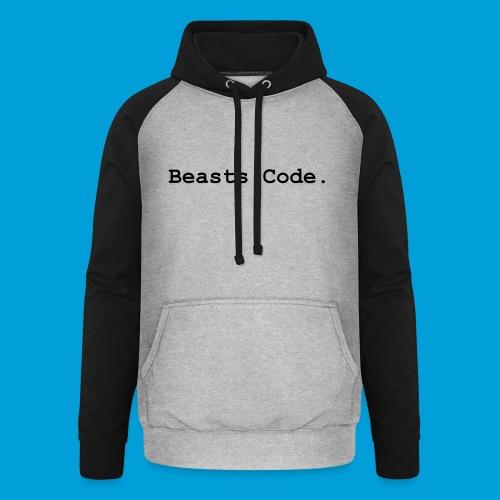 Beasts Code. - Unisex Baseball Hoodie