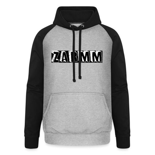 Zarmm collection - Sweat-shirt baseball unisexe