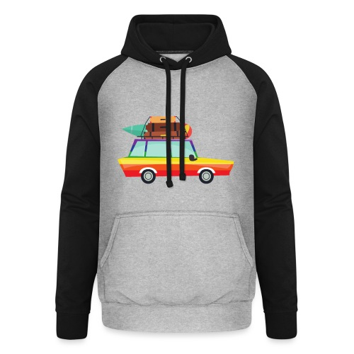 Gay Van | LGBT | Pride - Unisex Baseball Hoodie