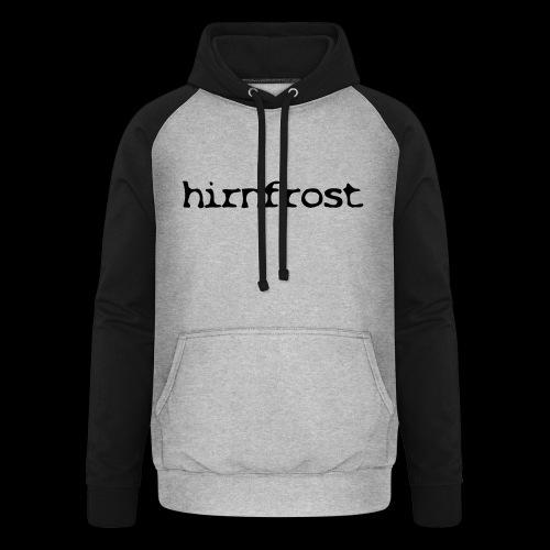 Hirnfrost - Unisex Baseball Hoodie