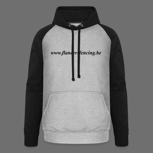 wwww.flandersfencing.be - Unisex baseball hoodie