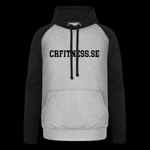 CRfitness Web - Basebolluvtröja unisex
