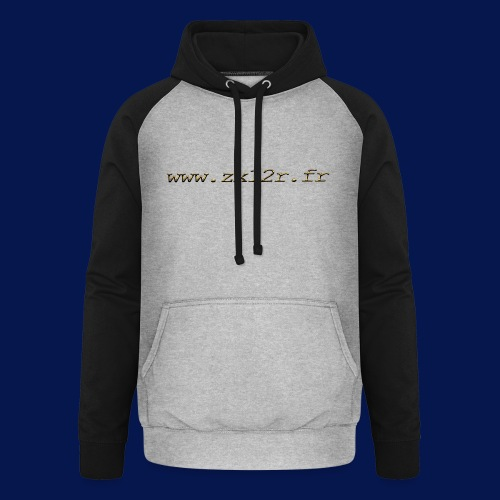 www zx12r fr OR - Sweat-shirt baseball unisexe