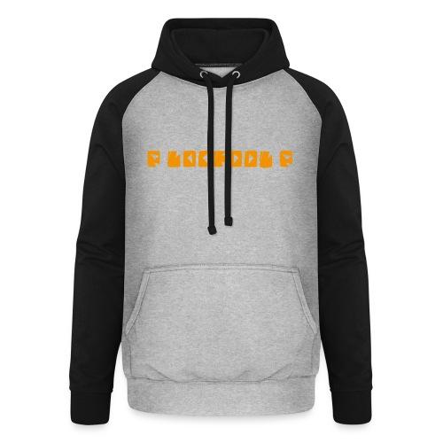 P loofool P - Orange logo - Unisex baseball-hettegenser