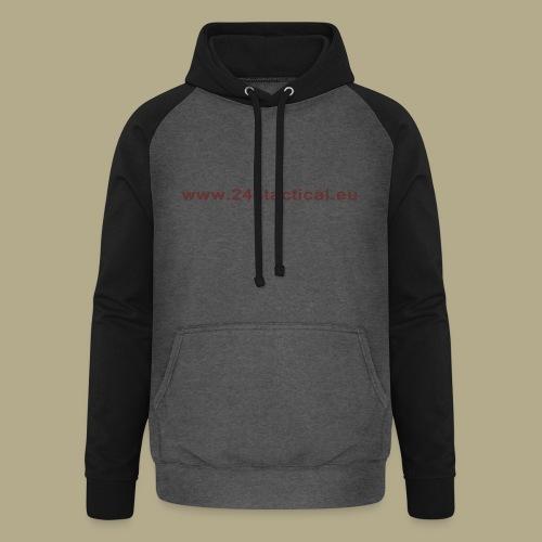 .243 Tactical Website - Unisex baseball hoodie