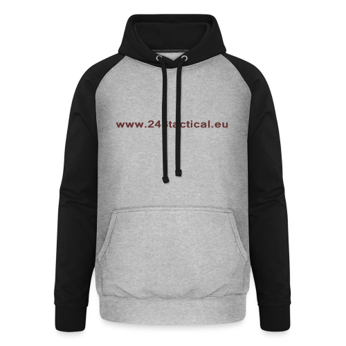 .243 Tactical Website - Unisex baseball hoodie