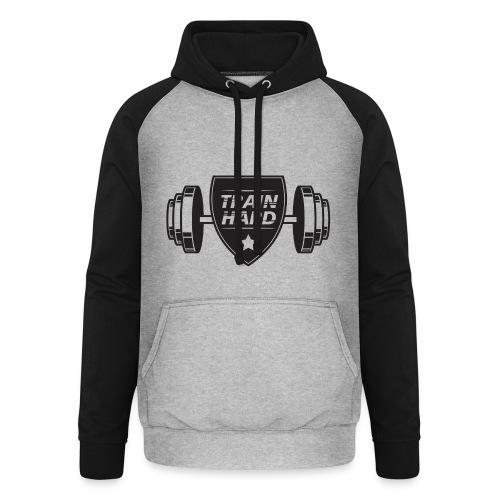 Train Hard - Unisex baseball hoodie