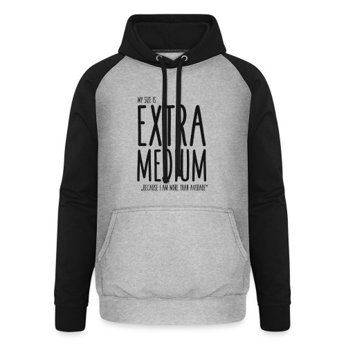 EXTRAmedium - Sweat-shirt baseball unisexe