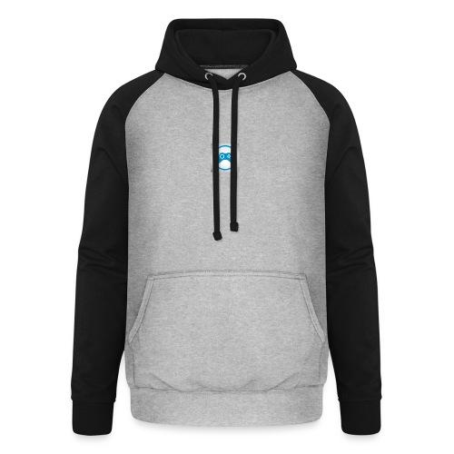 mijn logo - Unisex baseball hoodie