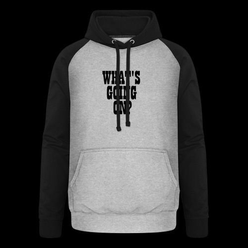 What's Going On? The Snuts - Unisex Baseball Hoodie