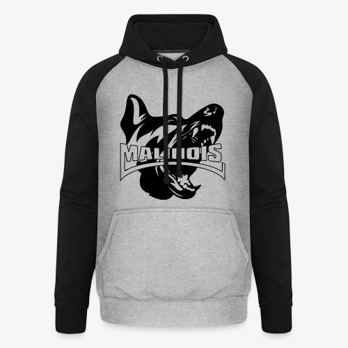 malinois - Sweat-shirt baseball unisexe