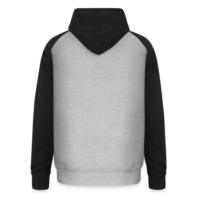 Vorschau: cat zipper pocket - Unisex Baseball Hoodie