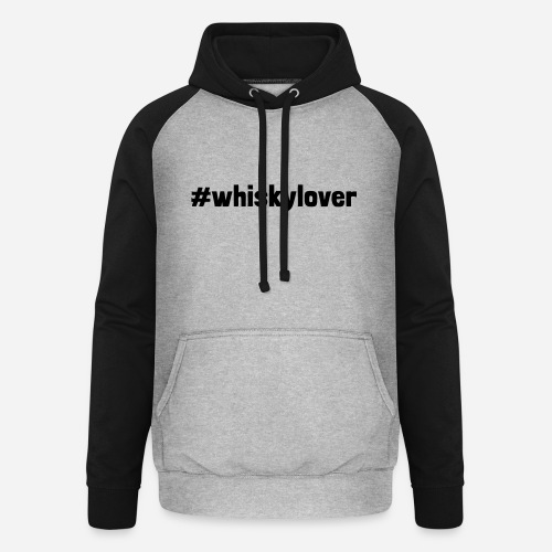 #whiskylover   Whisky Lover - Unisex Baseball Hoodie
