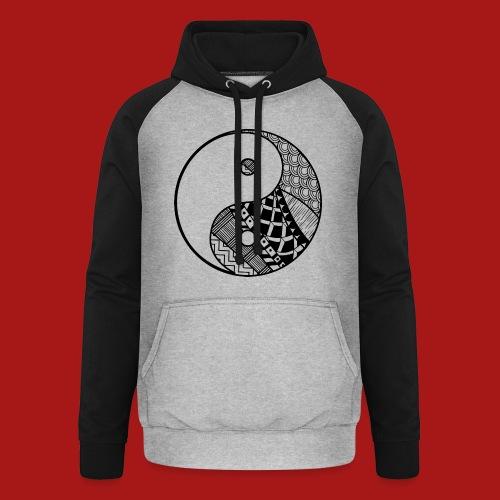 Decorative-Yin-Yang - Unisex baseball hoodie