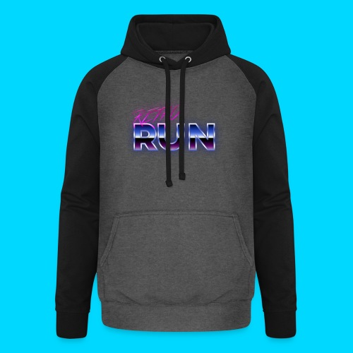 Retro Run Merch - Unisex Baseball Hoodie