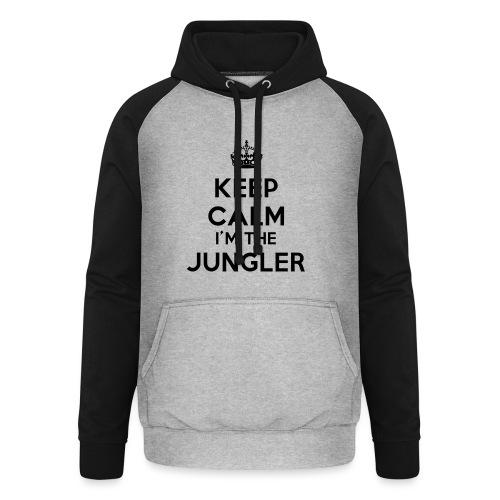Keep calm I'm the Jungler - Sweat-shirt baseball unisexe