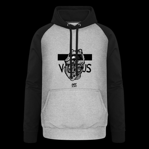 VICIOUS - Unisex baseball hoodie