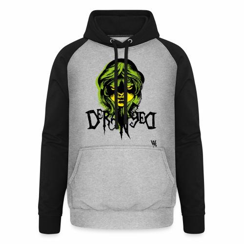 DerangeD - Tattoo Metal Horror Vampire - Unisex baseball hoodie