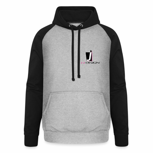 LOGO _ J-J DESIGN_Spreads - Unisex baseball hoodie