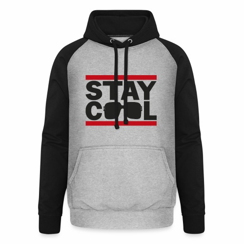 Stay Cool ver01 - Unisex baseball hoodie