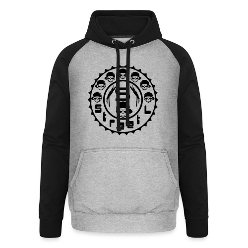 rawstyles rap hip hop logo money design by mrv - Bluza bejsbolowa typu unisex